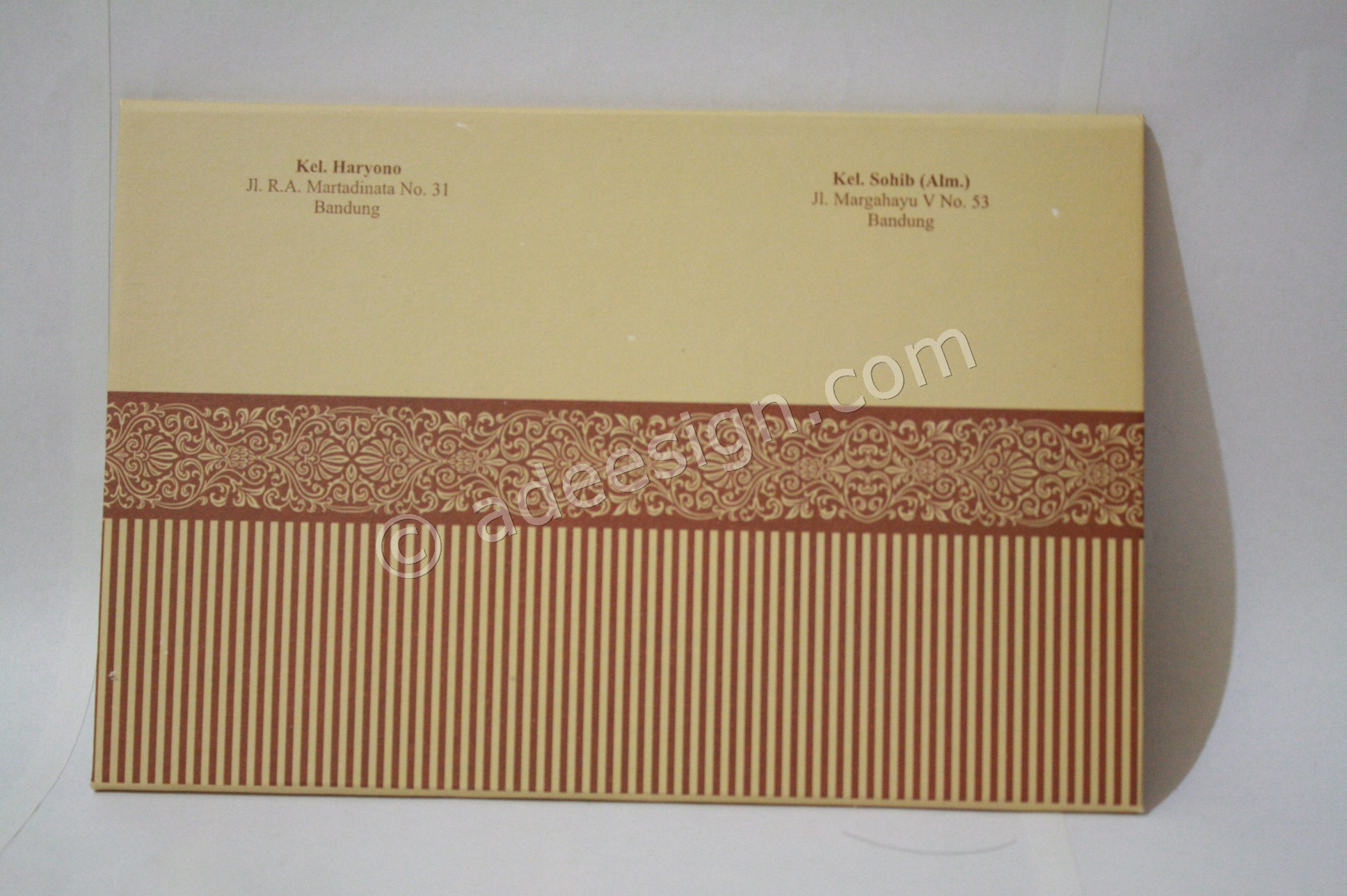 Membuat Wedding Invitations Murah di Ketintang