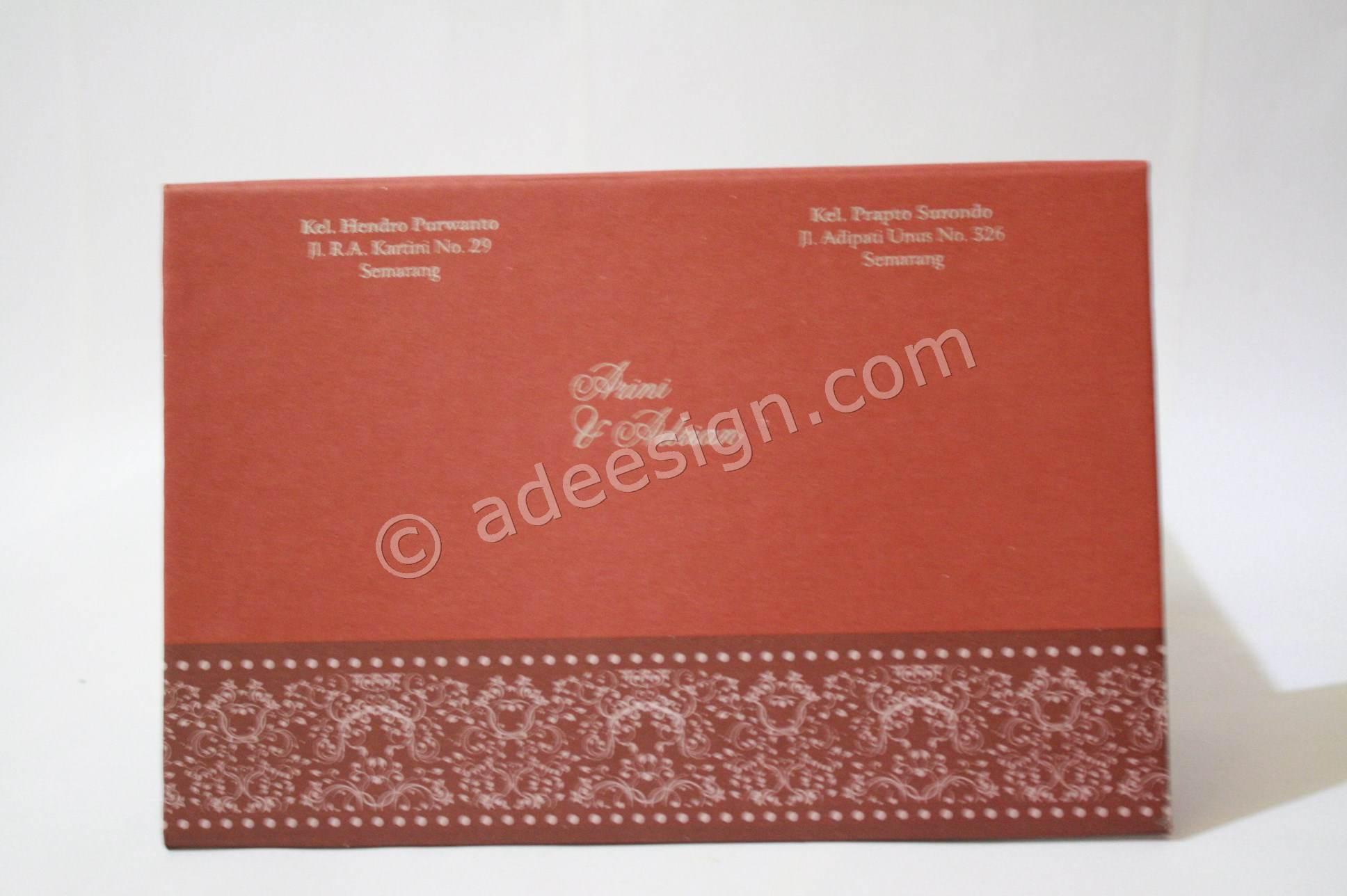 Kartu Undangan Pernikahan Hard Cover Arini dan Adrian 2 150x150 Kartu ...