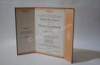 Kartu Undangan Pernikahan Hardcover Melati dan Danang