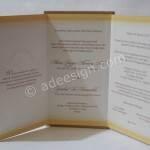 Kartu Undangan Pernikahan Semi Hardcover Iga dan Vio
