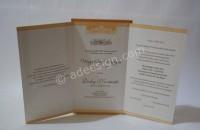 Kartu Undangan Pernikahan Semi Hardcover Maya dan Dicky