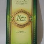 Kartu Undangan Pernikahan Semi Hard Cover Wulan dan Zaini 1 150x150 - Kartu Undangan Pernikahan Semi Hardcover Wulan dan Zaini
