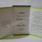 Kartu Undangan Pernikahan Semi Hardcover Wulan dan Zaini