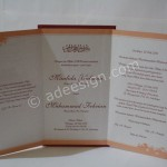 Kartu Undangan Pernikahan Semi Hardcover Yulia dan Febrian