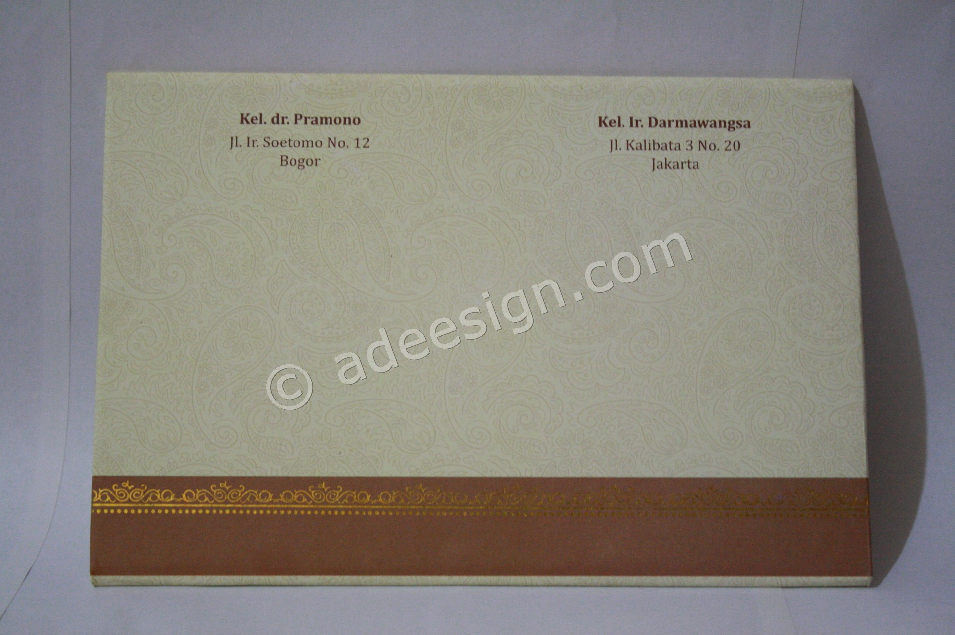 Pesan Wedding Invitations Simple di Rungkut Menanggal