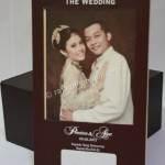 Contoh Kartu Undangan Pernikahan Hardcover Prinsisca dan Agus 1