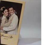 Contoh Kartu Undangan Pernikahan Hardcover Prinsisca dan Agus