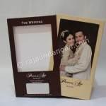 Contoh Kartu Undangan Pernikahan Hardcover Prinsisca dan Agus 2