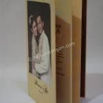 Contoh Kartu Undangan Pernikahan Hardcover Prinsisca dan Agus 3