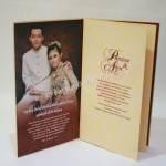 Contoh Kartu Undangan Pernikahan Hardcover Prinsisca dan Agus 4