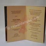 Contoh Kartu Undangan Pernikahan Hardcover Prinsisca dan Agus 5