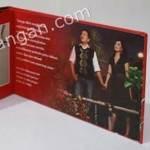 Contoh Undangan Pernikahan Hardcover Santiko dan Fitri