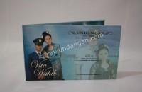 Contoh Undangan Pernikahan Hardcover Vita dan Wahab 1