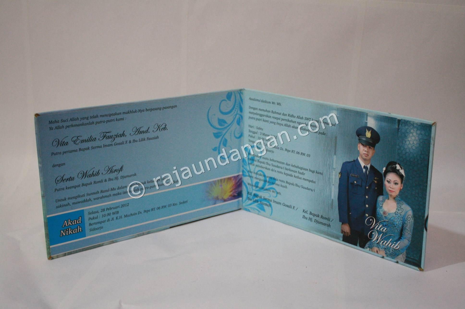 Contoh Undangan Pernikahan Hardcover Vita dan Wahab 2 150x150 Undangan ...