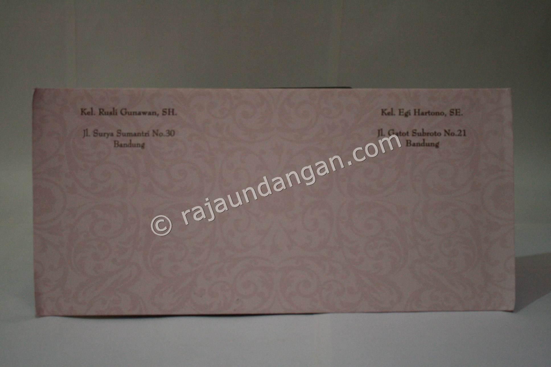 ... Undangan Pernikahan Softcover Dewi dan Roni undangan pernikahan