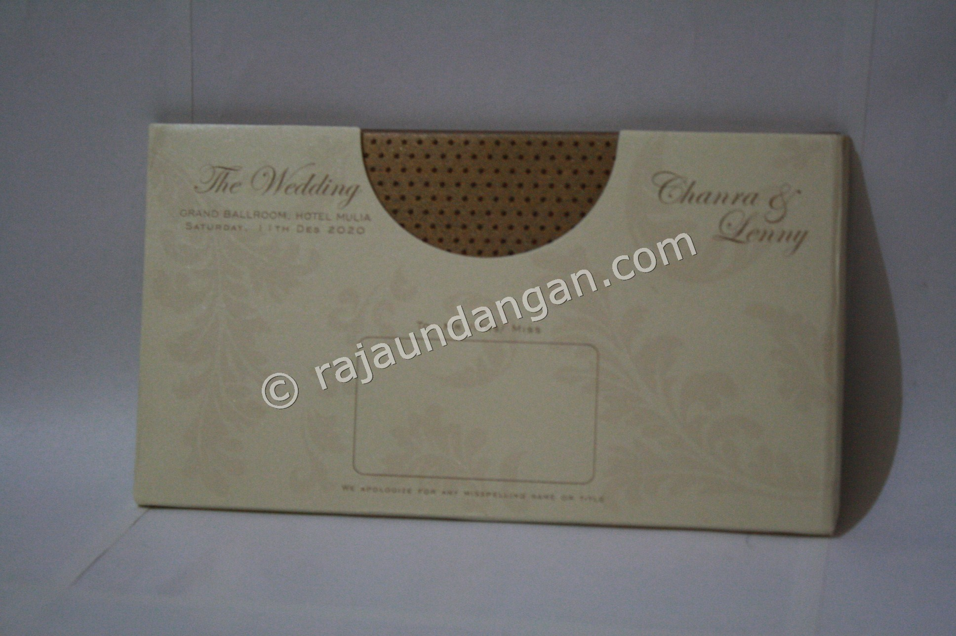 Membuat Wedding Invitations Unik di Siwalan Kerto