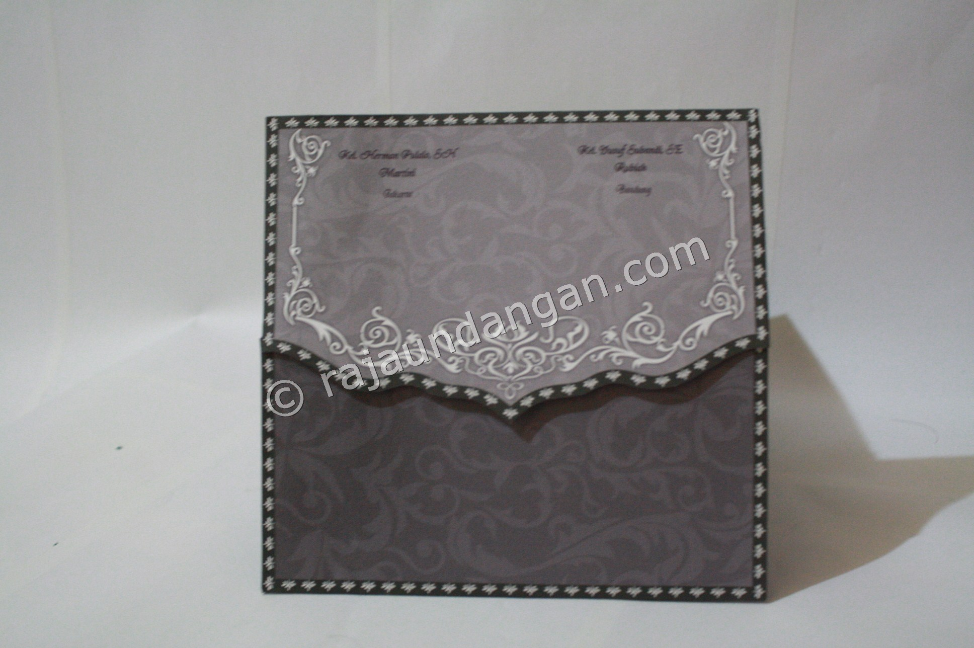 Undangan Pernikahan Softcover ED 27 3 - Pesan Wedding Invitations Simple di Ploso