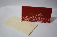 Contoh Kartu Undangan Pernikahan Hardcover Chandra dan Lenny 2