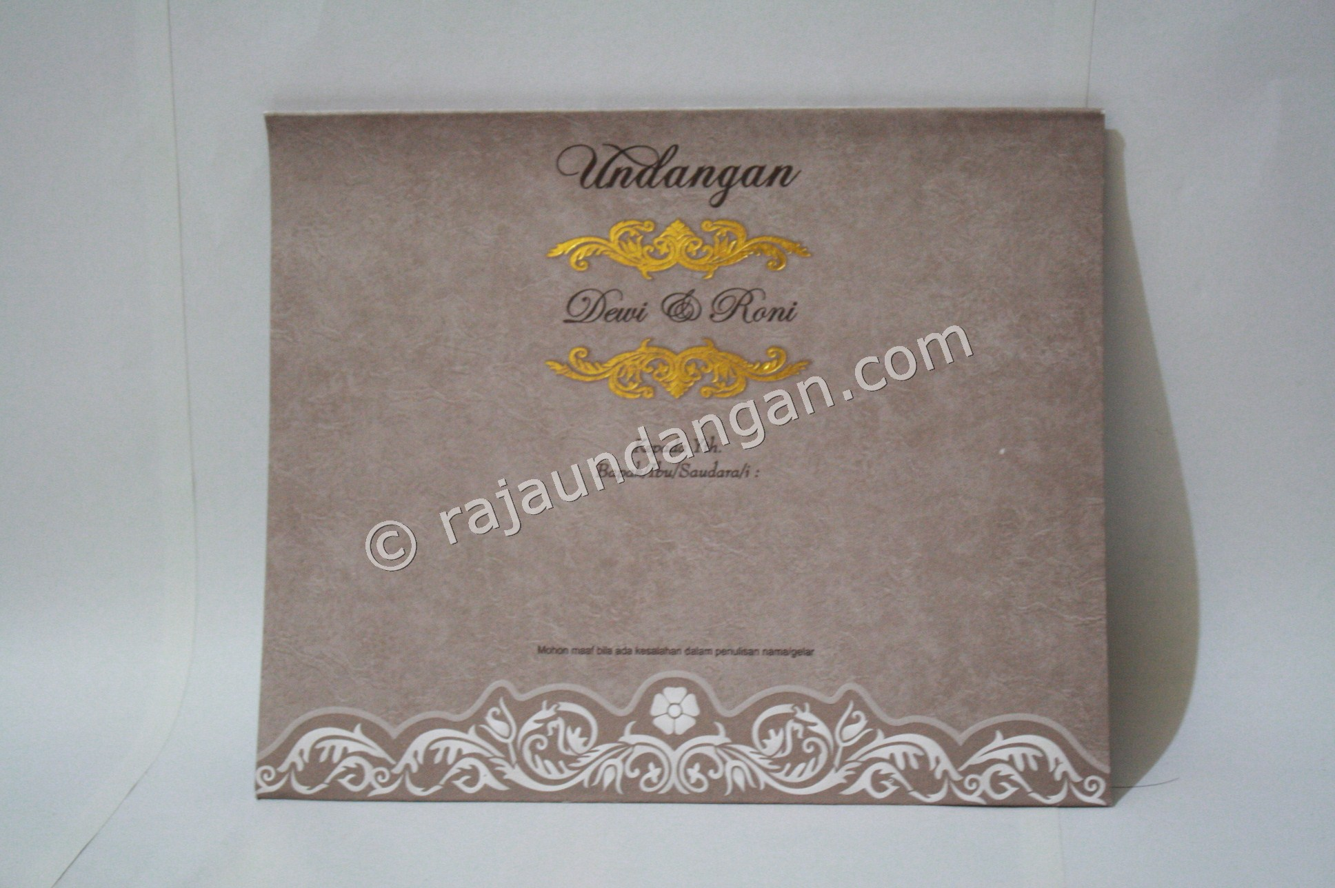 undangan pernikahan softcover ED 28 1 - Percetakan Wedding Invitations Murah di Kapasan