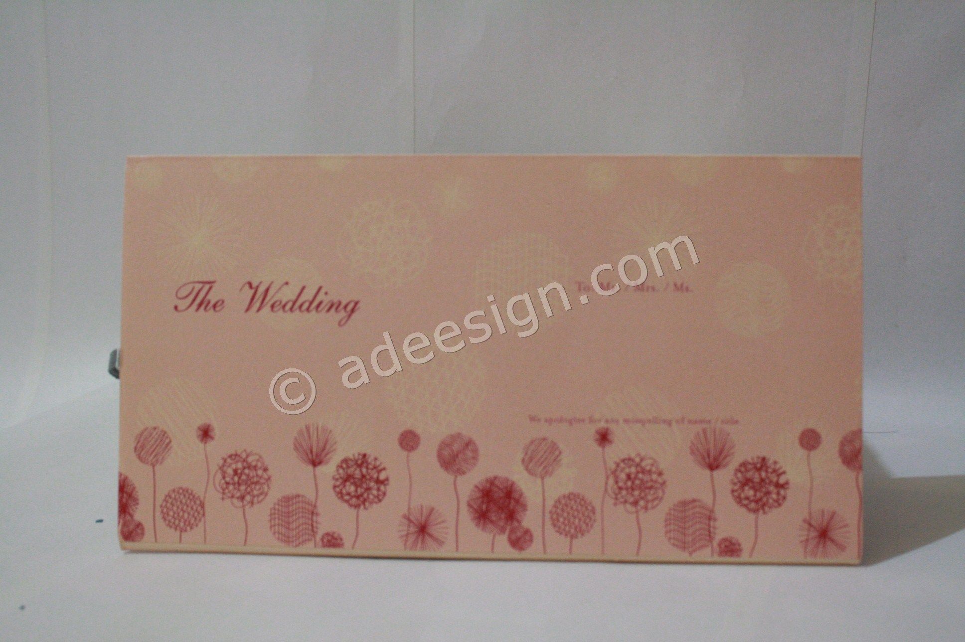 Pesan Wedding Invitations Online di Tambak Sarioso