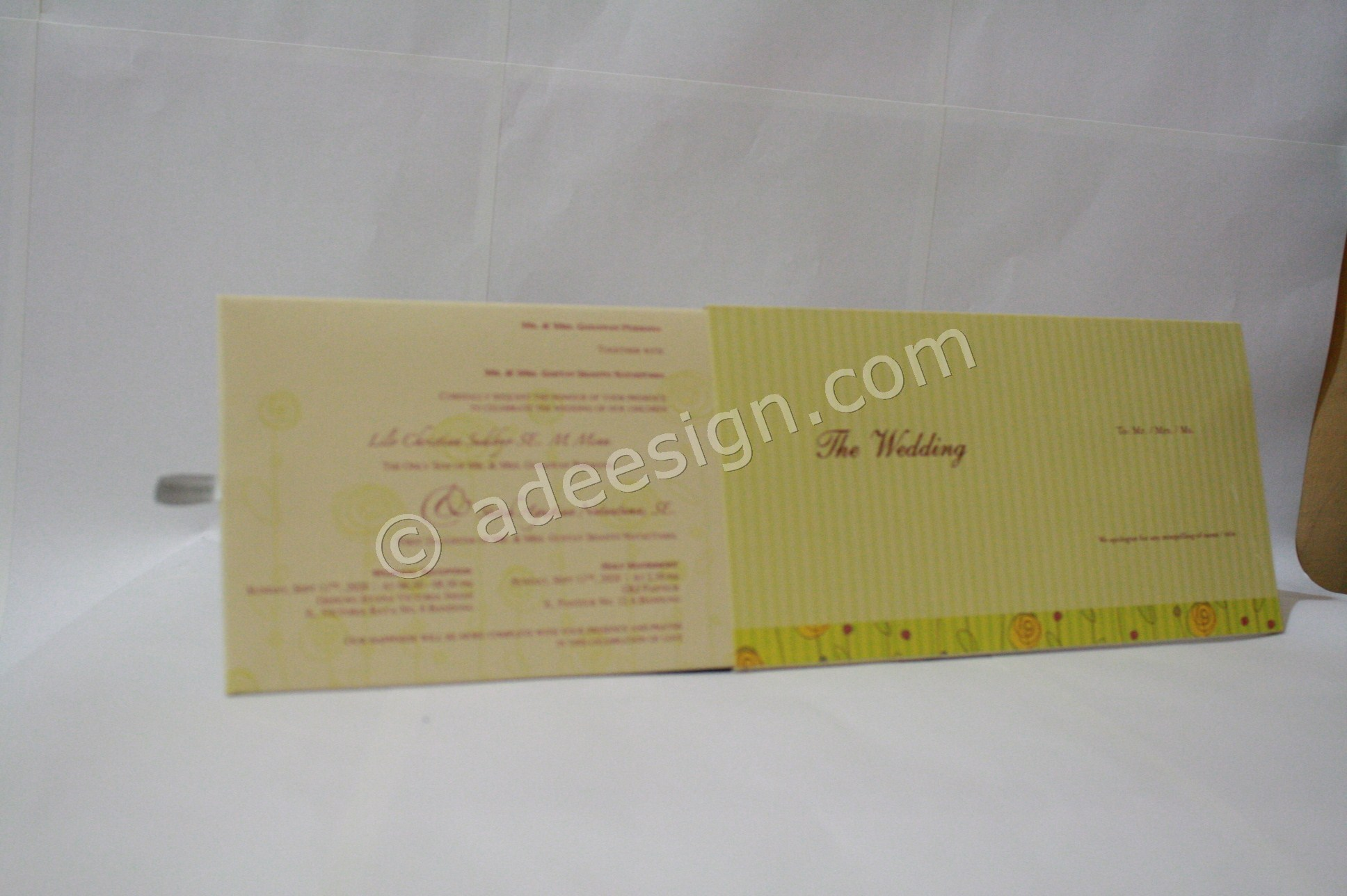 Undangan Pernikahan Hardcover ED68 4 - Desain Wedding Invitations Unik dan Simple