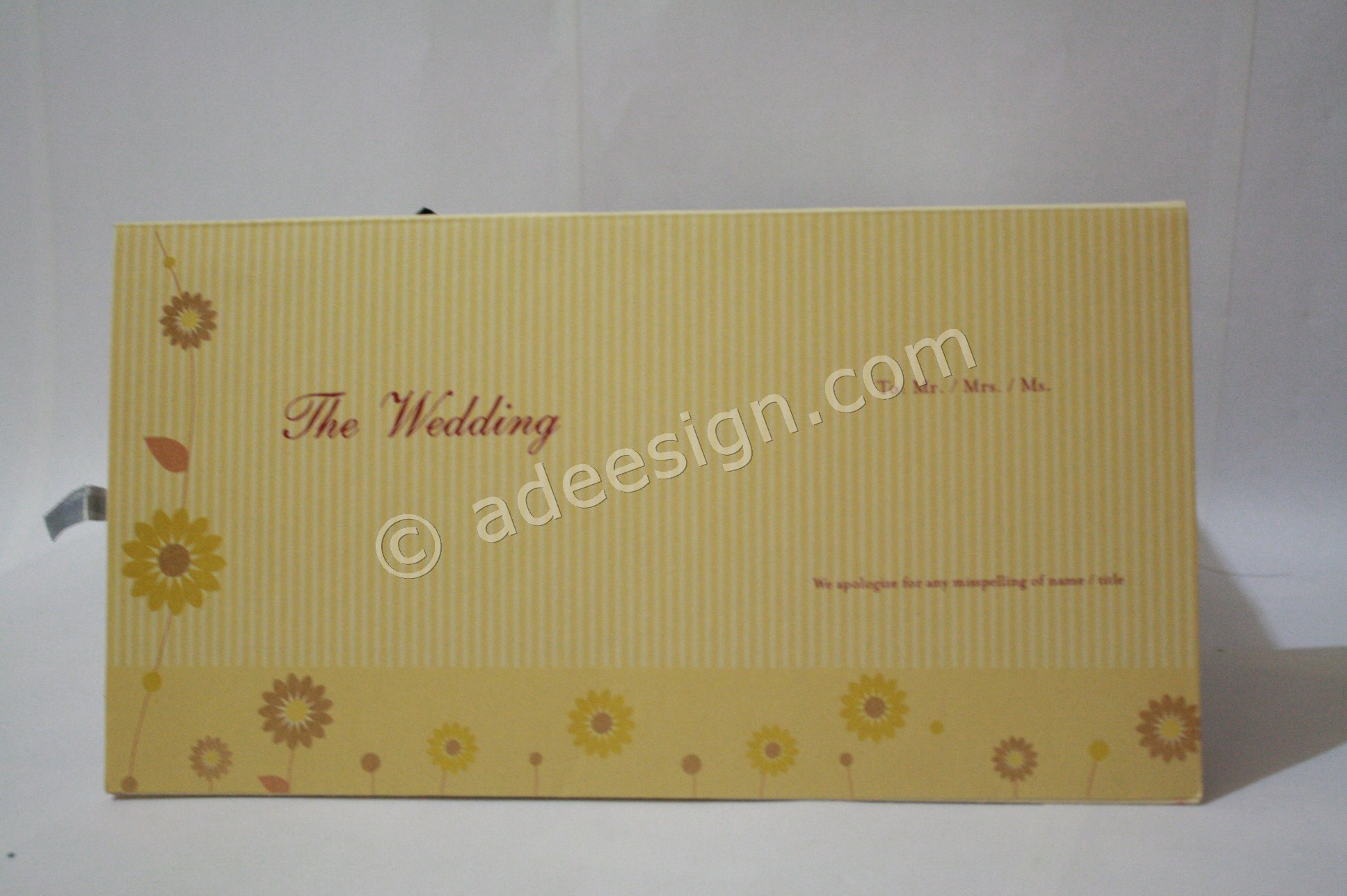 Undangan Pernikahan Hardcover ED69 3 - Percetakan Wedding Invitations Unik dan Simple di Dukuh Sutorejo