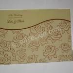 Undangan Pernikahan Hardcover Lilo dan Stich