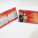 Undangan Pernikahan Model Kalender Meja 3