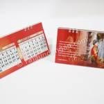 Undangan Pernikahan Model Kalender Meja 6