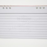 Undangan Pernikahan Model Kalender Meja Pake Notes