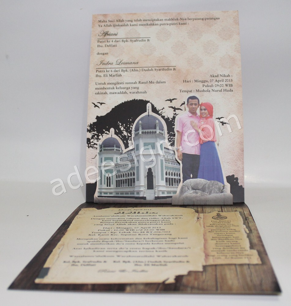 Membuat Wedding Invitations Unik dan Simple di Dr. Sutomo