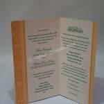 Undangan Pernikahan Softcover Fani dan Helmi