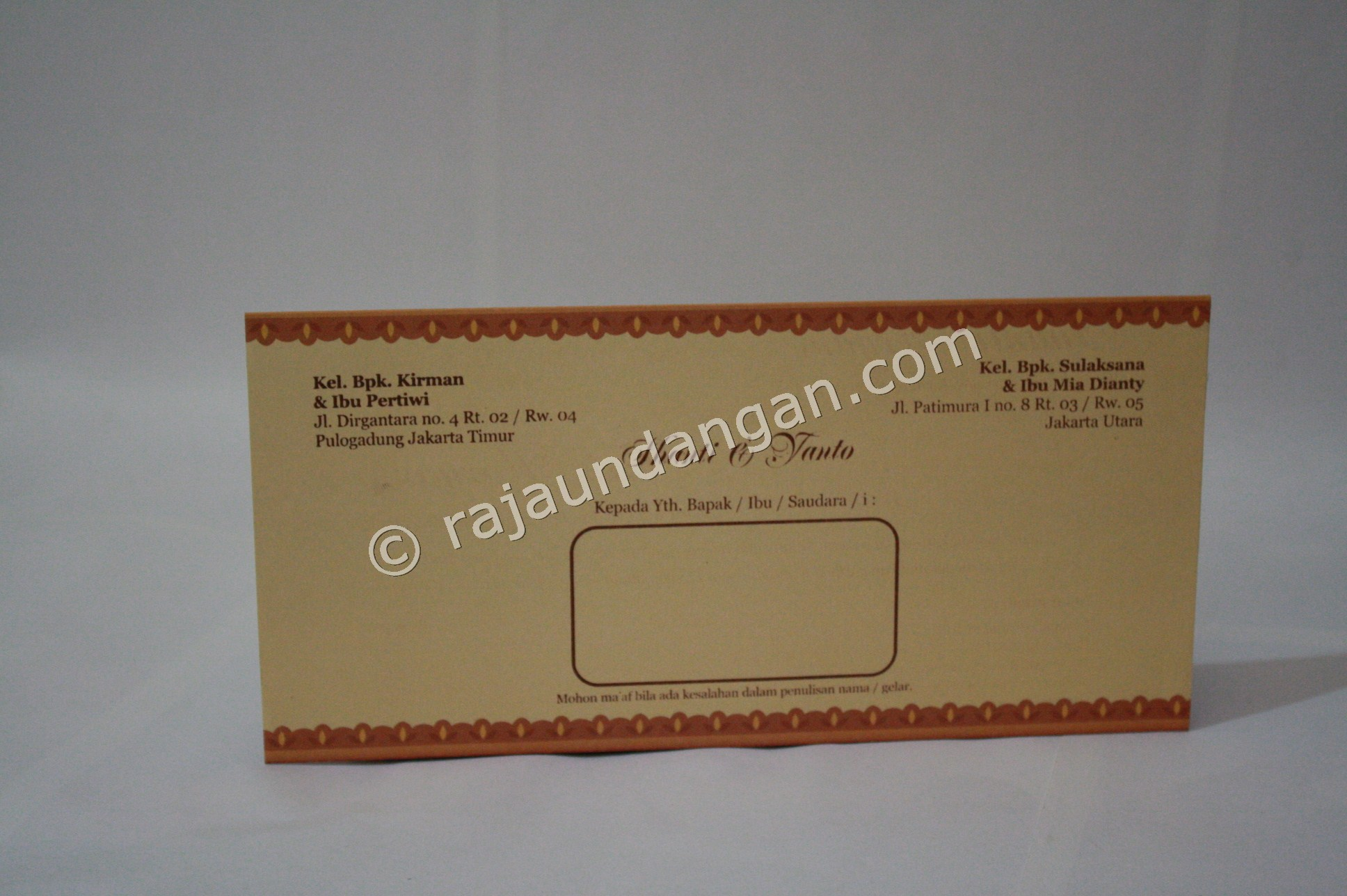 Cetak Wedding Invitations Unik dan Murah di Lontar