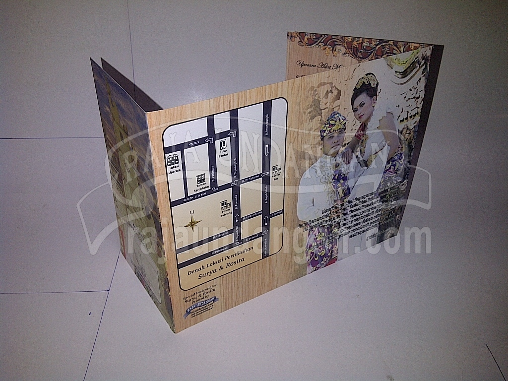 Undangan Motif Bali Softcover Surya dan Rosita 2 - Tips Mencetak Wedding Invitations Simple