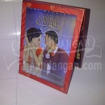 Undangan Pernikahan Hardcover Pop Up Multifungsi Randy dan Nhienhie (EDC 25)