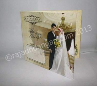 Undangan Pernikahan Mini Hardcover Lilik dan Gesang