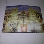 Undangan Pernikahan Motif Bali Surya dan Rosita (EDC 18)