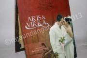 Undangan Pernikahan Pop Up Hardcover Aris dan Virra (EDC 14)