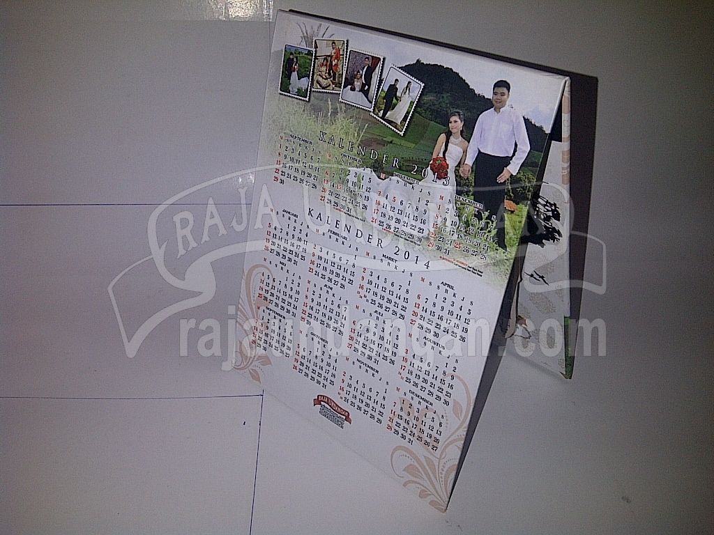 Undangan Pernikahan Pop Up Hardcover Grady Meilan 2 - Percetakan Wedding Invitations Online di Klampisngasem