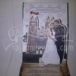 Undangan Pernikahan Pop Up Hardcover Grady dan Meilan