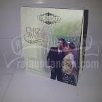 Undangan Pernikahan Softcover Chiz dan Iwan Seri B (EDC 24)