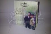 Undangan Pernikahan Softcover Chiz dan Iwan Seri B