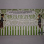 Undangan Pernikahan Hardcover Motif Kartun Jawa Boby dan Wisda