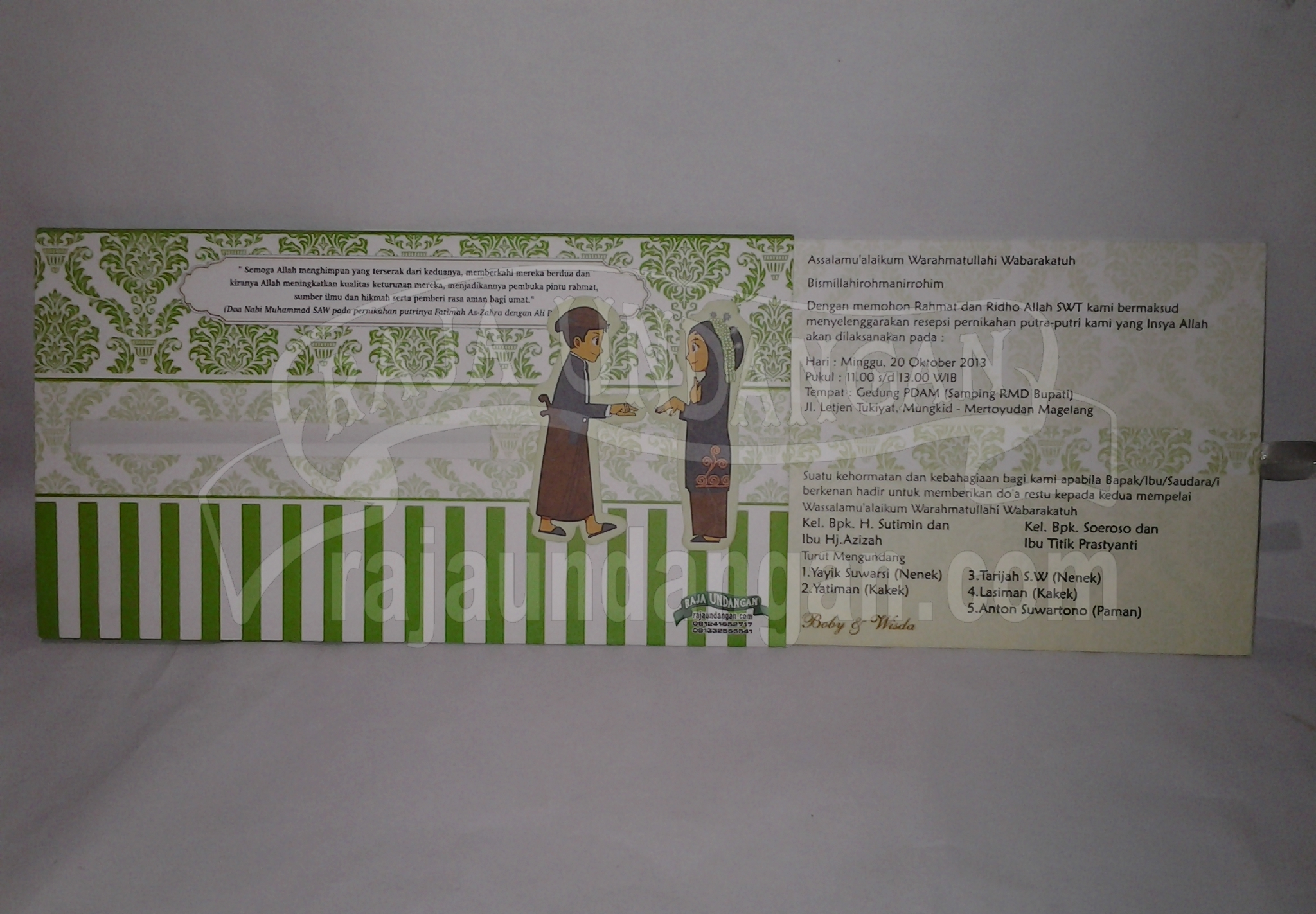 20131009 104040 - Pesan Wedding Invitations Simple di Ploso