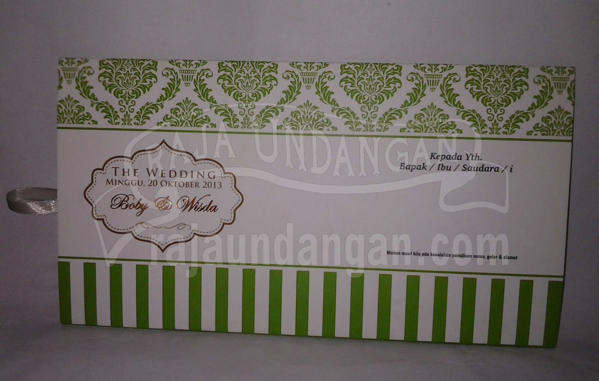20131009 104118 - Pesan Wedding Invitations Online di Dupak