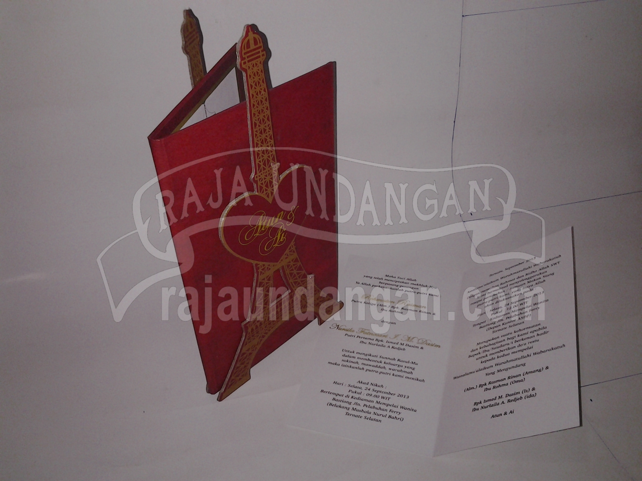 Cetak Wedding Invitations Murah di Ngagelrejo