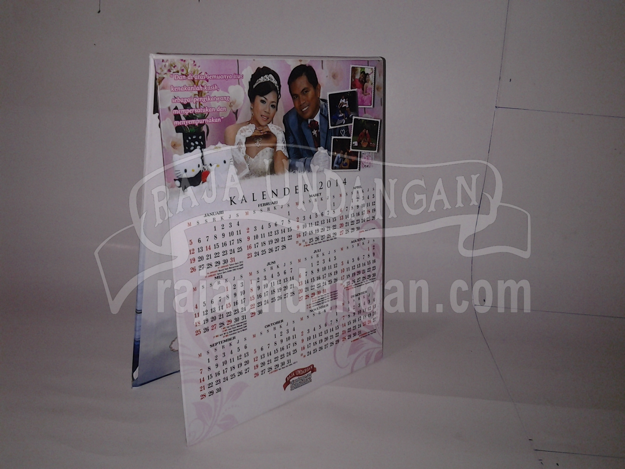 Undangan Pernikahan Hardcover Pop Up Grein dan Sisi 22 - Percetakan Wedding Invitations Online di Klampisngasem