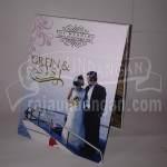 Undangan Pernikahan Hardcover Pop Up Grein dan Sisi (EDC 32)