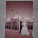 Undangan Pernikahan Softcover Mini Pop Up Didin dan Fitri