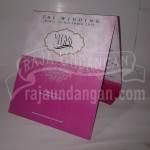 Undangan Pernikahan Softcover Vita dan Yudi (EDC 33)